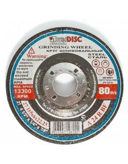 Disc abraziv pentru slefuit Lugadisc Autentic 115X6,0X22,2