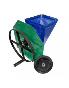 Tocator manual cu cutite si fulie motor pentru radacinoase, legume si fructe