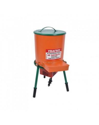 Tocator electric tip butoi pentru fructe si legume, 1.1 kw, 300 kg/h