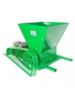 Zdrobitor / tocator electric de fructe si legume, 300 - 500 Kg/Ora, Cuva 20 Litri Detasabila, Fermer, Model 2020