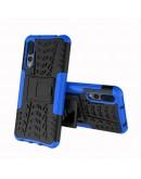 Carcasa protectie spate anti-alunecare pentru Huawei P20 Pro, albastra