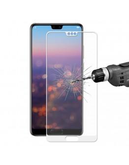 Sticla securizata protectie ecran 0,26 mm pentru Huawei P20, alba