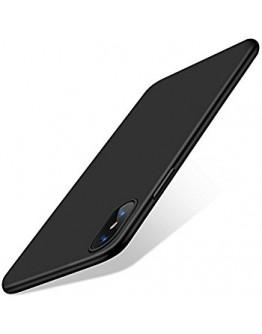 Carcasa protectie spate din gel TPU 0.6 mm pentru iPhone X/Xs, neagra