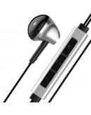 Casti in-ear Baseus B51 cu control pe fir si microfon, conexiune USB Type-C, negre