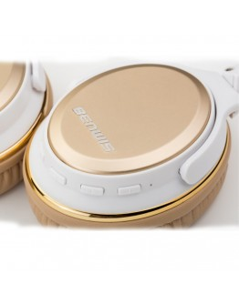 Casti over-ear BENWIS H800 cu Bluetooth CSR4.0 - gold