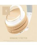 Casti over-ear BENWIS H800 cu Bluetooth CSR4.0 - gold