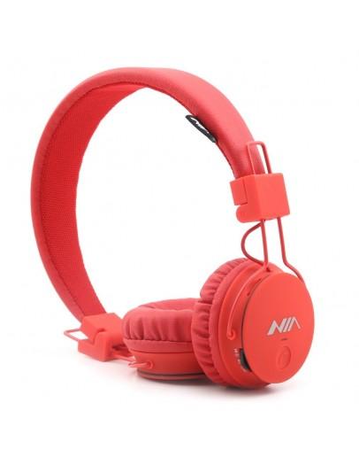 Casti handsfree 4in1 NIA X2 - rosu