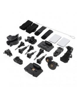 Kit 24 in 1 accesorii pentru camere sport
