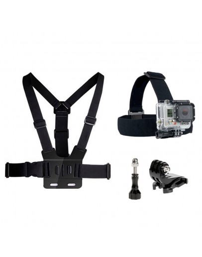 Kit 4 in 1 accesorii pentru camere sport