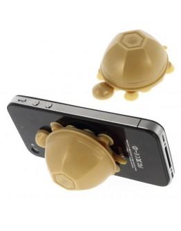 Suport 3D din silicon pentru telefon - gold