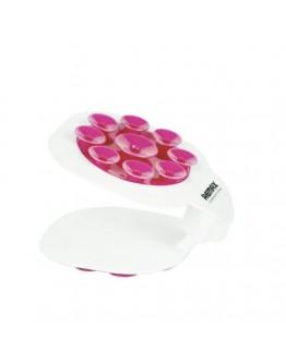 Suport universal REMAX pentru telefon cu ventuze - roz