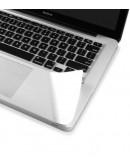 """Folie protectie palm rest si trackpad aspect aluminiu pentru MacBook Pro Retina 15.4"""""""