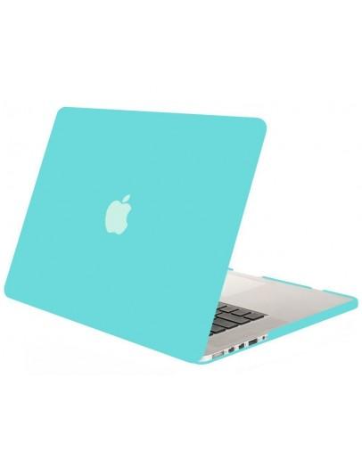Carcasa protectie din plastic pentru MacBook Pro Retina 12, albastra