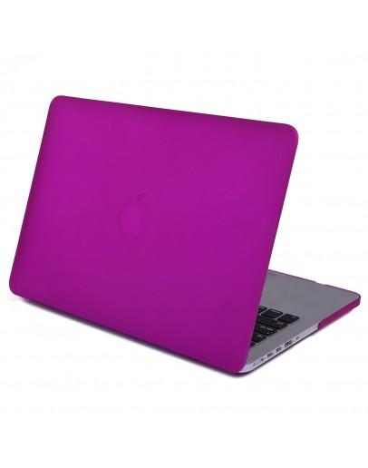 Carcasa protectie din plastic pentru MacBook Pro Retina 12, mov