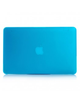 """Carcasa protectie slim din plastic pentru MacBook Air 13.3"""", albastru deschis"""