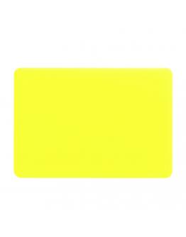 "Carcasa protectie slim din plastic pentru MacBook Air 13.3"", galbena"