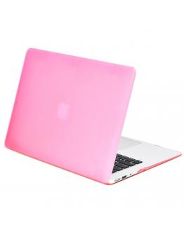 "Carcasa protectie slim din plastic pentru MacBook Air 13.3"", roz"