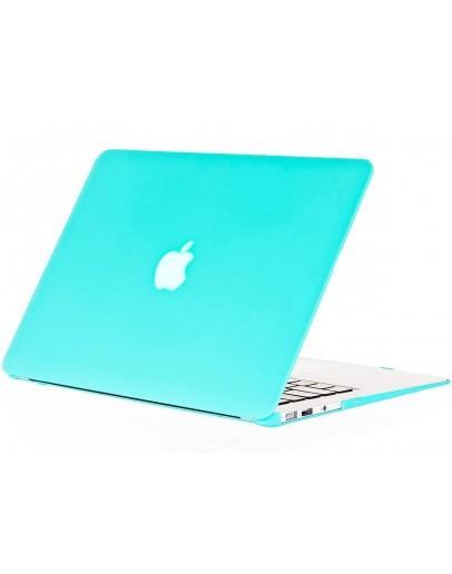 Carcasa protectie din plastic pentru MacBook Air 13, albastra