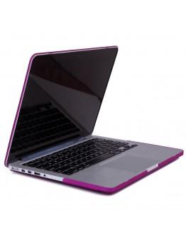 Carcasa protectie din plastic pentru MacBook Pro Retina 13, mov