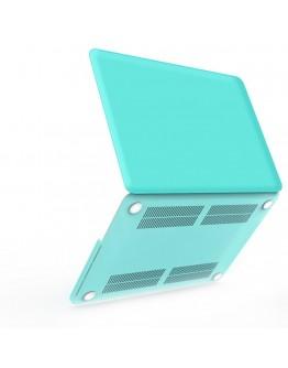 Carcasa protectie din plastic pentru MacBook Pro Retina 13, albastra