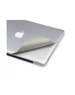 Folie protectie aspect aluminiu pentru MacBook  Air 13.3