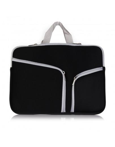 Husa protectie pentru MacBook 11.6/12 inch, neagra