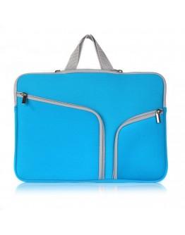 Husa protectie pentru MacBook 11.6/12 inch, albastra