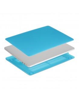 """Carcasa protectie slim din plastic pentru MacBook Pro  13.3"""" 2016 / Touch Bar, albastru deschis"""