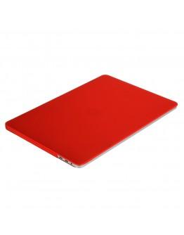 "Carcasa protectie slim din plastic pentru MacBook Pro  13.3"" 2016 / Touch Bar, rosie"