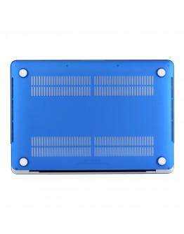 "Carcasa protectie slim din plastic pentru MacBook Pro  15.4"" 2016 / Touch Bar, albastru inchis"