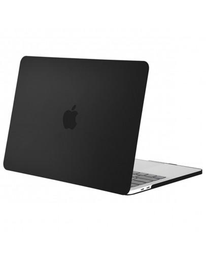 """Carcasa protectie slim din plastic pentru MacBook Pro  15.4"""" 2016 / Touch Bar, neagra"""