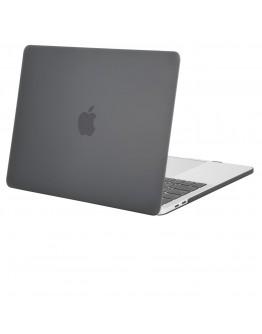 """Carcasa protectie slim din plastic pentru MacBook Pro 15.4"""" 2016 /2017/ Touch Bar, gri"""