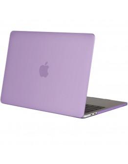 "Carcasa protectie slim din plastic pentru MacBook Pro  13.3"" 2016 / Touch Bar, mov deschis"