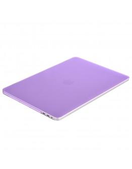 "Carcasa protectie slim din plastic pentru MacBook Pro  15.4"" 2016 / Touch Bar, mov deschis"