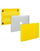 "Carcasa protectie slim din plastic pentru MacBook Pro 13.3"" (Non-Retina), galbena"
