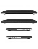 "Carcasa protectie slim din plastic pentru MacBook Pro 13.3"" (Non-Retina), neagra"
