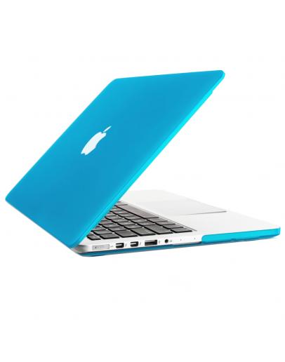 """Carcasa protectie slim din plastic pentru MacBook Pro 13.3"""" (Non-Retina), albastru deschis"""