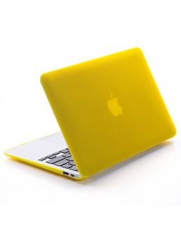 "Carcasa protectie slim din plastic pentru MacBook Pro 13.3"" 2016 / Touch Bar,Galbena"