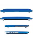 "Carcasa protectie slim din plastic pentru MacBook Pro 15.4"" (Non-Retina), albastru inchis"