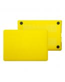 "Carcasa protectie slim din plastic pentru MacBook Pro 15.4"" (Non-Retina), galbena"