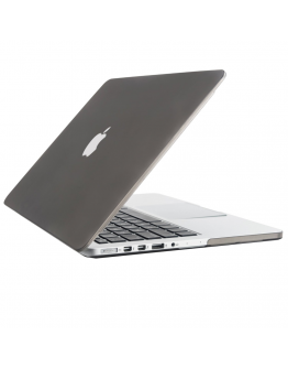 "Carcasa protectie slim din plastic pentru MacBook Pro 15.4"" (Non-Retina), gri"