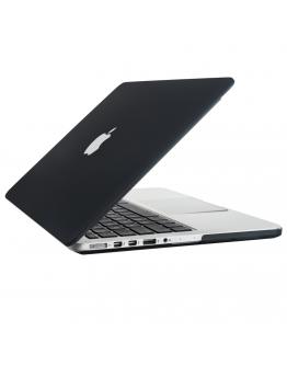 "Carcasa protectie slim din plastic pentru MacBook Pro 15.4"" (Non-Retina), neagra"