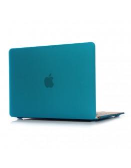 """Carcasa protectie slim din plastic pentru MacBook Retina 12"""", albastru deschis"""