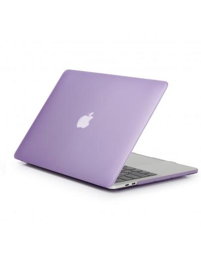 "Carcasa protectie slim din plastic pentru MacBook Retina 12"", mov deschis"