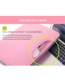 Husa protectie pentru MacBook 13.3 inch, roz