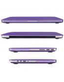 "Carcasa protectie slim din plastic pentru MacBook Pro Retina 13.3"", mov"