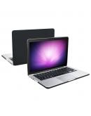 """Carcasa protectie slim din plastic pentru MacBook Pro Retina 13.3"""", negru translucid"""