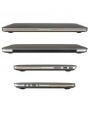 """Carcasa protectie slim din plastic pentru MacBook Pro Retina 15.4"""", gri"""