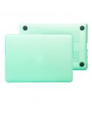 """Carcasa protectie slim din plastic pentru MacBook Pro Retina 15.4"""", verde"""