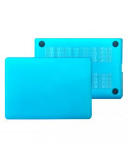 """Carcasa protectie slim din plastic pentru MacBook Pro Retina 15.4"""", albastru deschis"""
